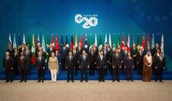 The G20 when they met in Brisbane, Australia in 2014