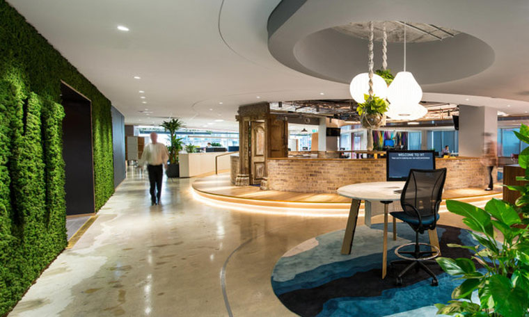 Sustainable healthy spaces celebrated at green interior awards cachet groups wt partnership fandeluxe Choice Image