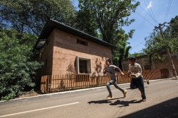 post-earthquake prototype house designed by the Chinese University of Hong Kong