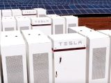 Tesla battery storage