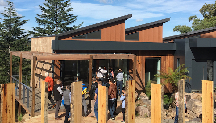 The South Pacific Passive House Conference 2018 site tour