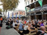Fremantle street crowd