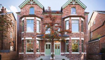 Graphene stars in Passivhaus retrofit of Victorian townhouses