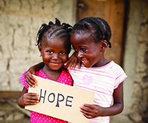 Give under privileged children a hope