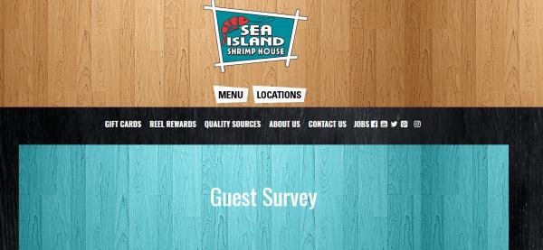 Sea Island Shrimp House Survey