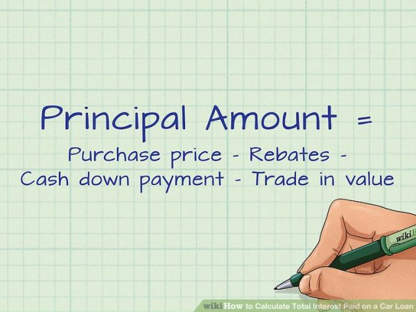 Calculate Principal & Interest Payments