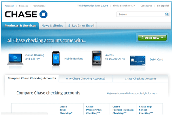 Chase Bank Account