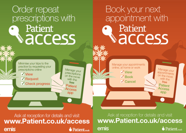 Patient UK EMIS Access