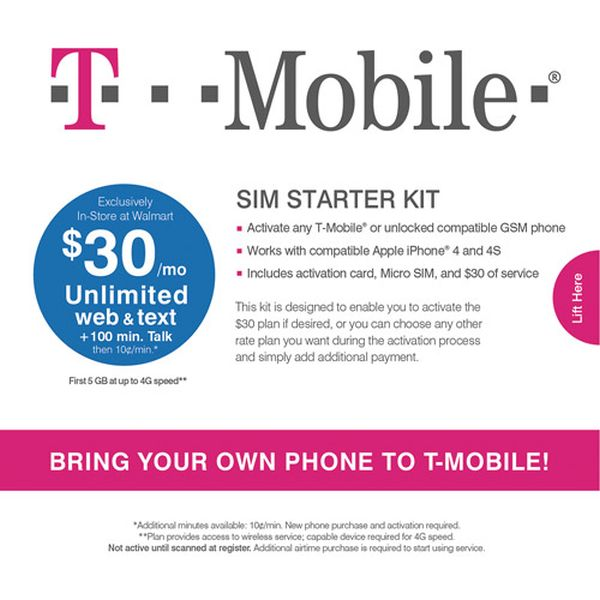 Activate T-Mobile Phone