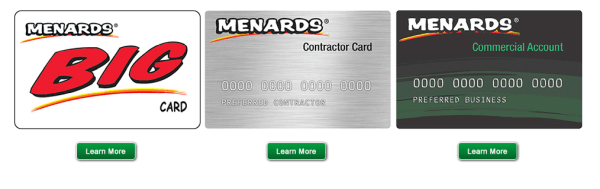 How To Order Capital One Menards Big Card?