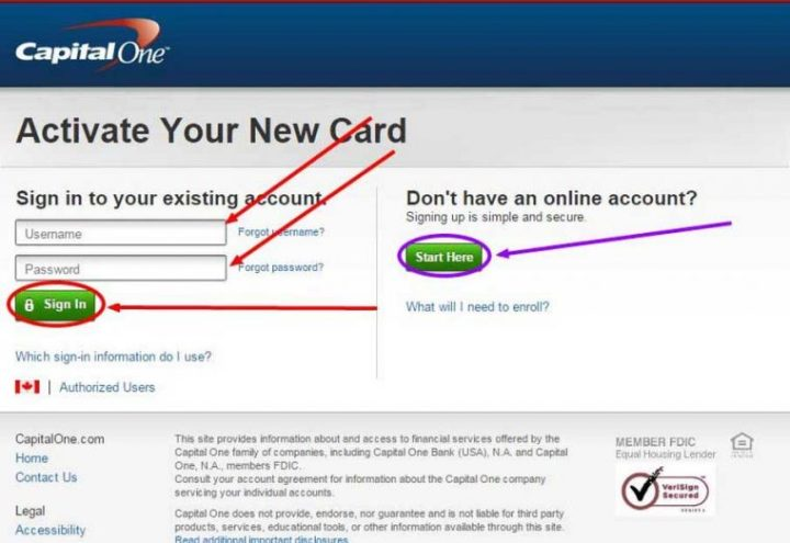 Contact Capital One >> All You Need To Know About Activate Capital One Card The