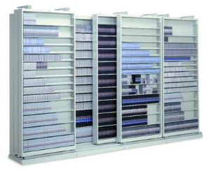 High Density MultiMedia Storage Systems  Tape Rack
