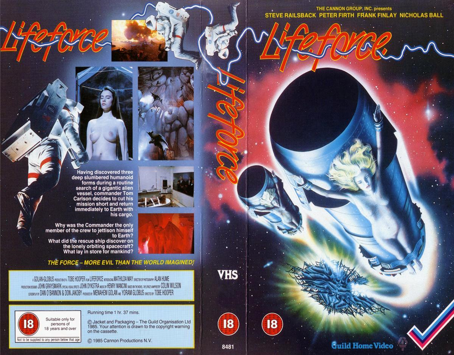 Image result for Lifeforce 1985