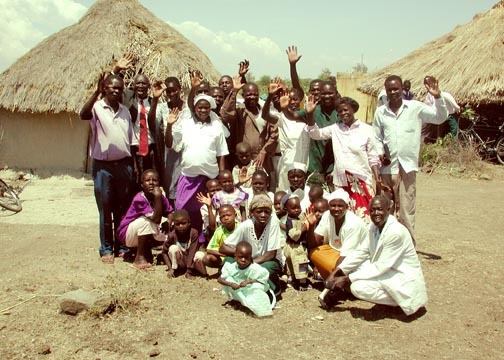 Hezekiah And His Church In Uyoma Kenya first Visit Small