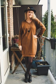 Lou box dress by The Final Stitch