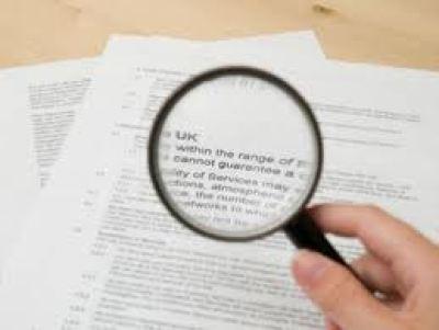 borrowing money costs money - small print image