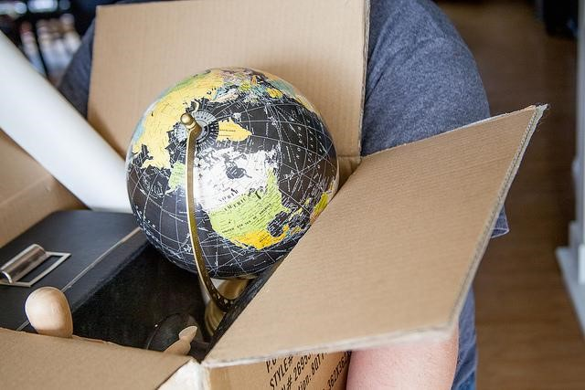 Packed boxes - cut the cost of removals image