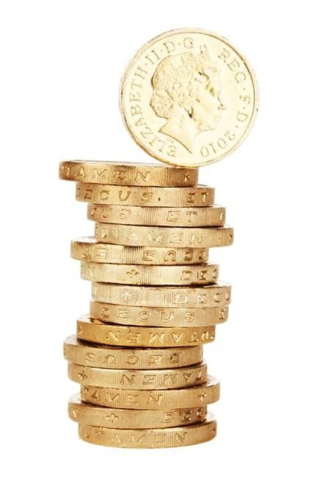 pile of coins image