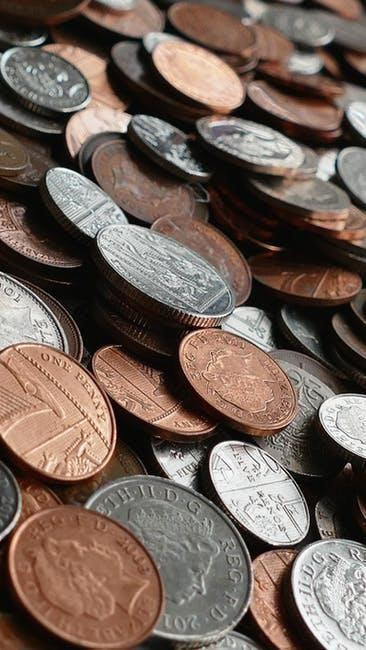 Financial Faculty: An Education In Money - pile of coins image