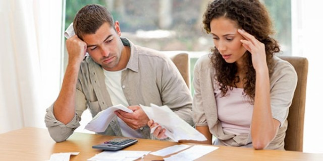Hitting the Financial Bottom: 3 Options for You to Consider to Prevent Debt from Ruining Your Life - debt worries image
