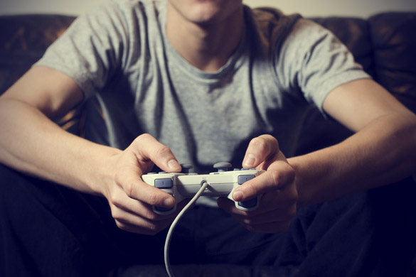 can you really make money playing video games? - gamer image
