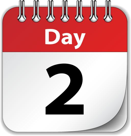 day 2 calendar image