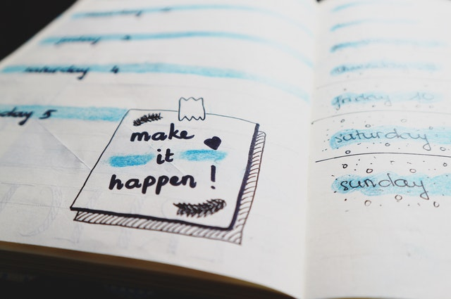 It's Time To Start Planning For The Future - goals career and future planning image of a journal page