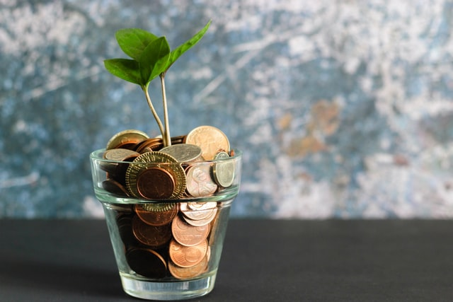 Tackling Your Finances Head On  - growing money image