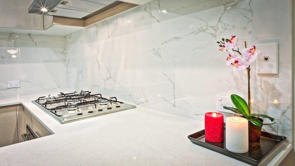 renovated kitchen high end