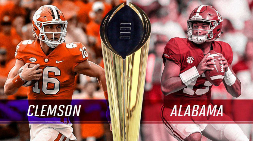 Alabama Vs Clemson Tigers Beats The Tide 44 16 The