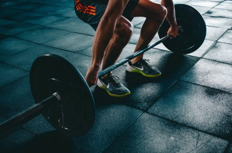 Weightlifting personal training