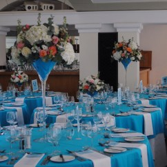 Tiffany Blue Wedding Chair Covers Round Kitchen Table With Caster Chairs Pembroke Lodge Flowers  Beautiful Ivory Coral
