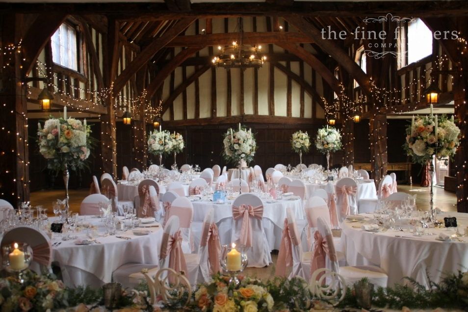blush chair sashes uk lazy boy sale nude pink wedding flowers » the fine company, surrey