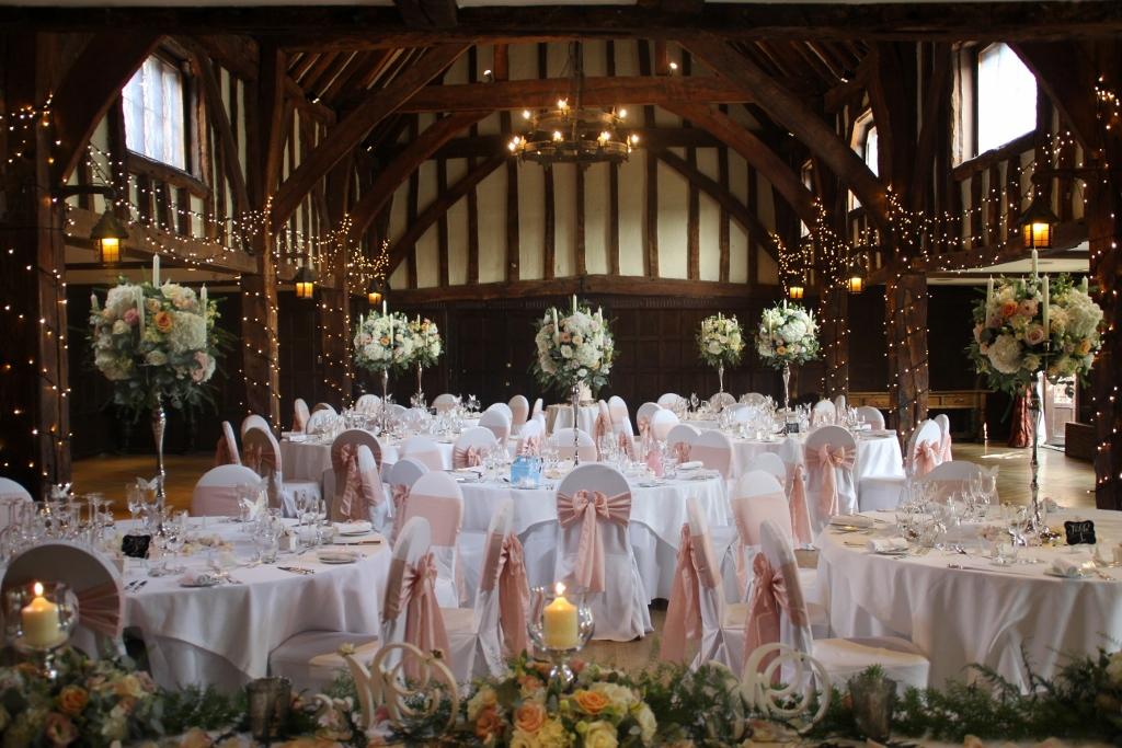blush chair sashes uk scandinavian kneeling nude pink wedding flowers at great fosters » the fine company