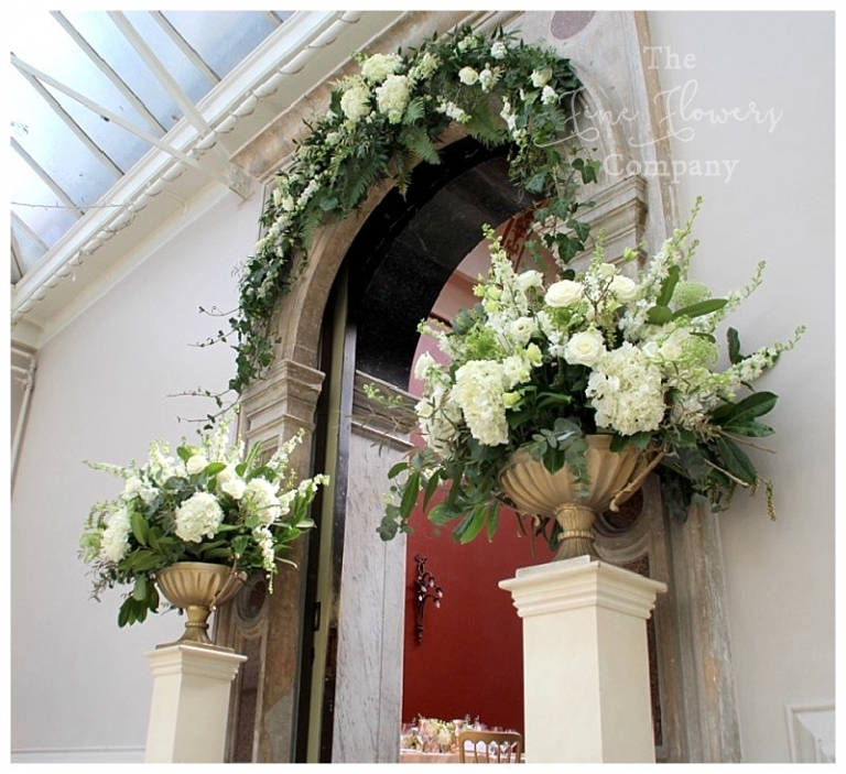 Hampton Court House wedding  The Fine Flower Company