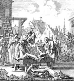 Crime and Punishment in the Middle Ages - Quartering