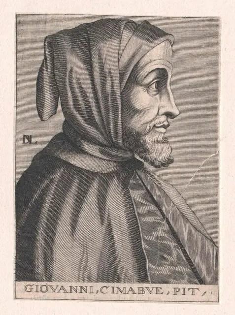 Portrait of Cimabue