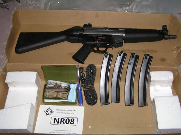 Norinco NR08 Chinese MP5 Clone The Firearm Blog