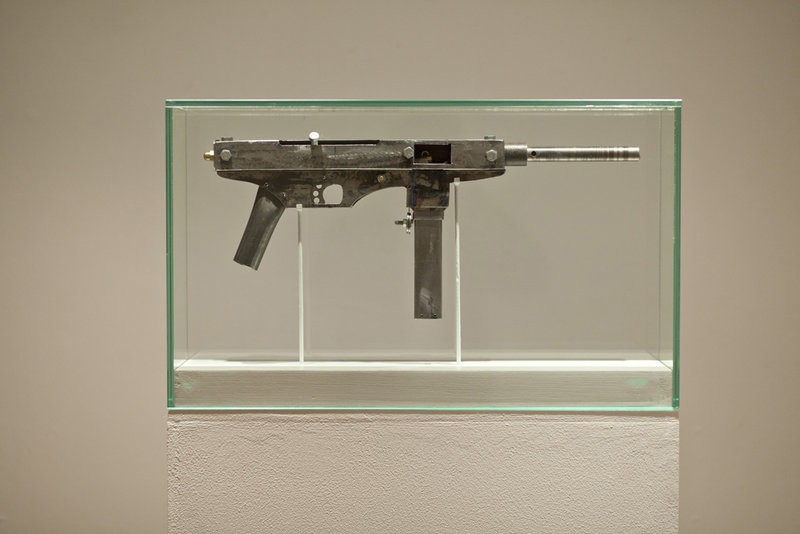 The Expedient 9mm Submachine Gun displayed in Norway  The
