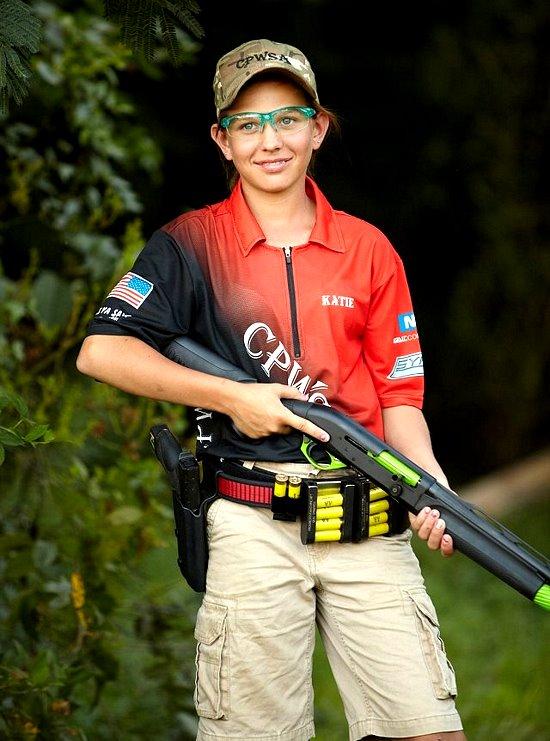13 year old girl rocks 3Gun  The Firearm BlogThe Firearm Blog