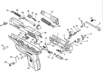ruger pistol parts diagram one wire alternator wiring chevy new lc9s striker-fired - the firearm blogthe blog