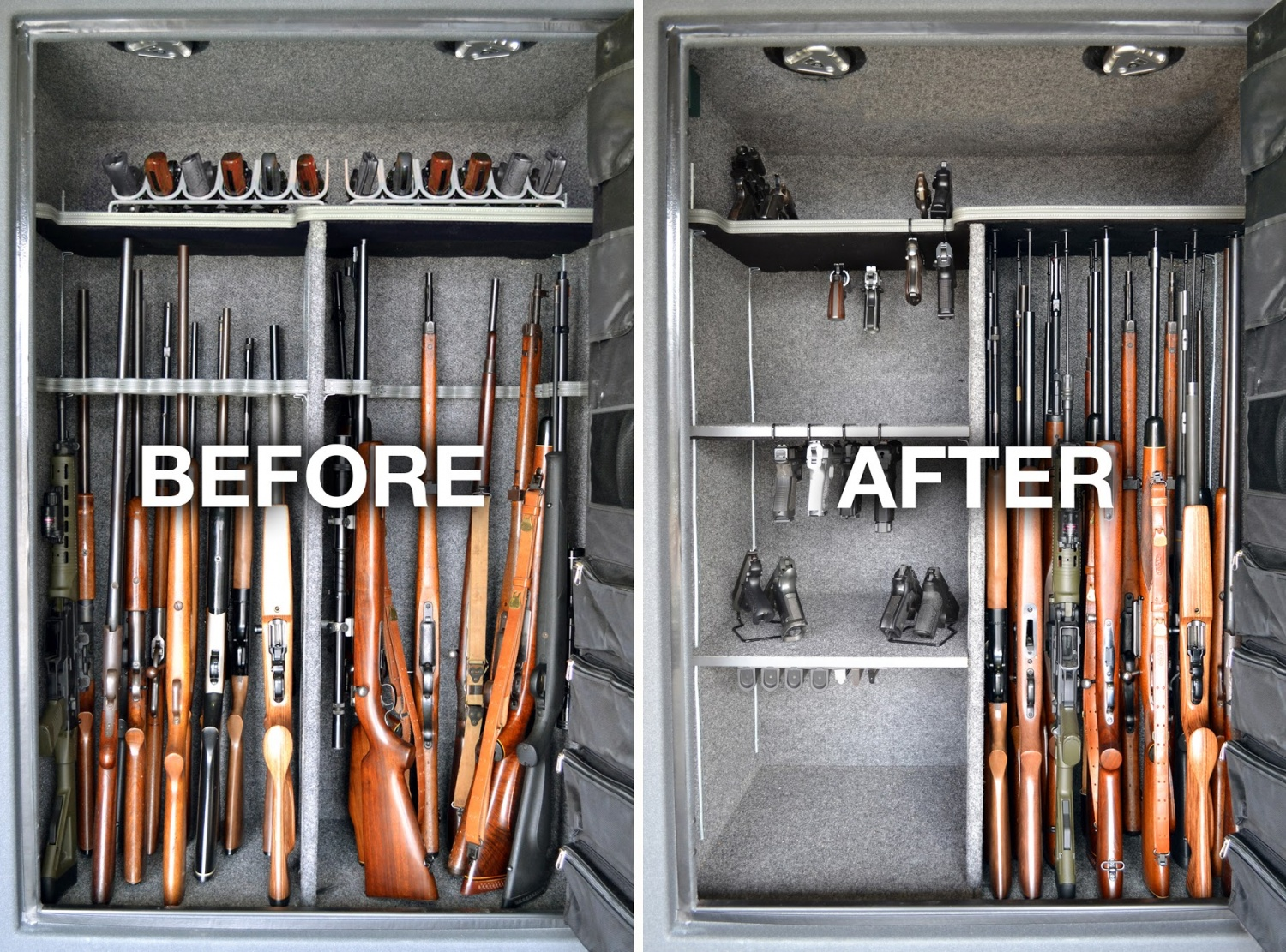 Gun Storage Solutions Helps You Maximize Storage The