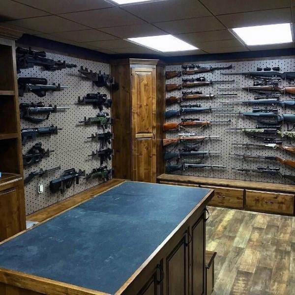 Top 100 Best Gun Rooms The Firearm Blog
