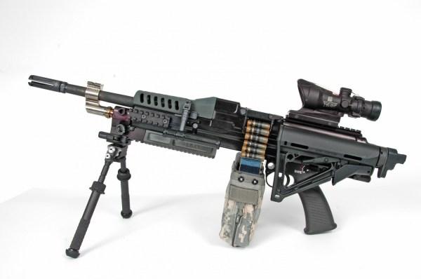 LSAT Light Machine Gun