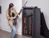 New SecureIt Gun Cabinet with CradleGrid Technology - Long ...