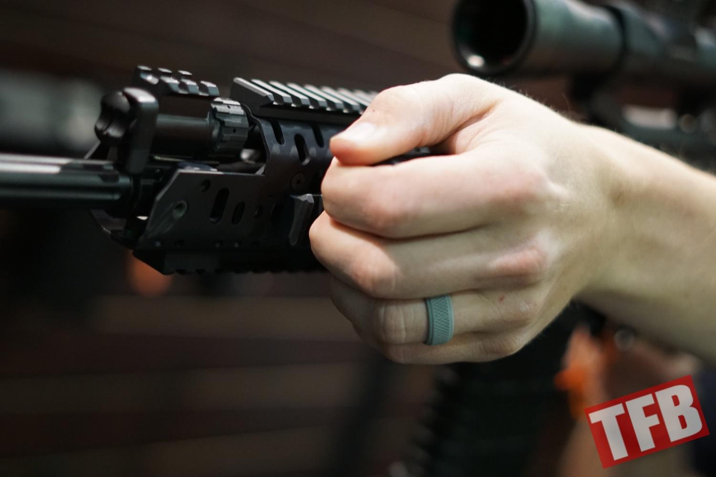 SHOT 2018 Ryker FISTGrip an Offset Picatinny mounted