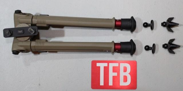 KNS Precision SNAPFOOT Bipod Feet Adapter System (4)