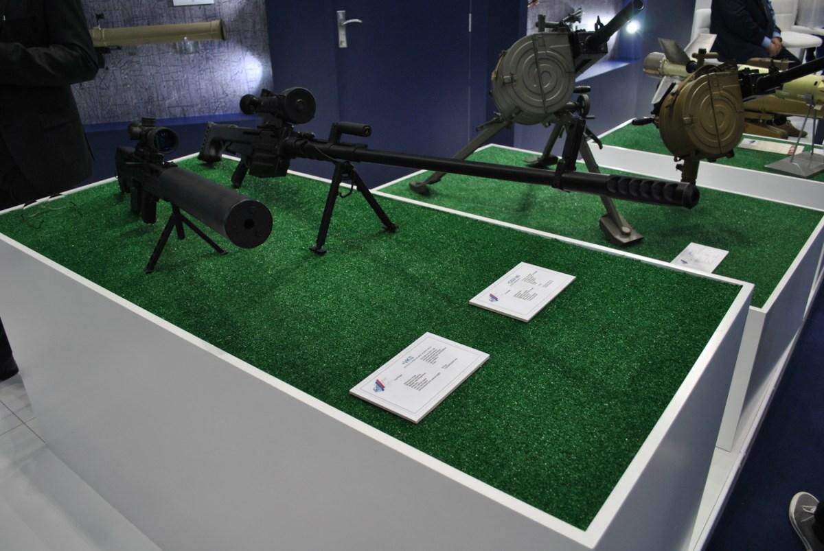 OSV-96 and VKS sniper rifles