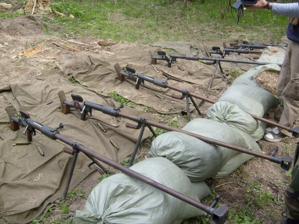 """PTRD """"anti-tank rifles"""" ready for some action"""