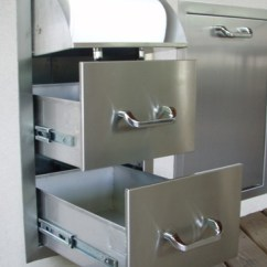Stainless Steel Kitchen Cart With Drawers Booster Seat Rthc1 New! Rcs Brand Drawer And Paper ...